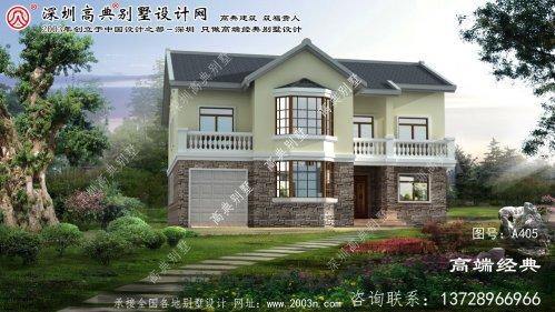 余杭区农村小型别墅设计图纸