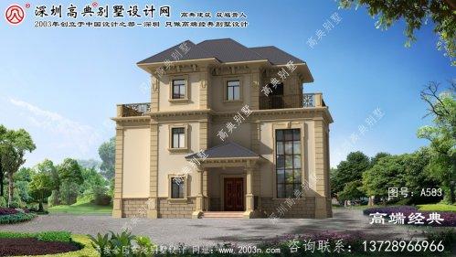 宁国市自建房子设计效果图