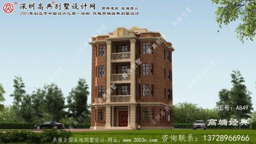漳浦县五层平屋顶别墅设计图纸