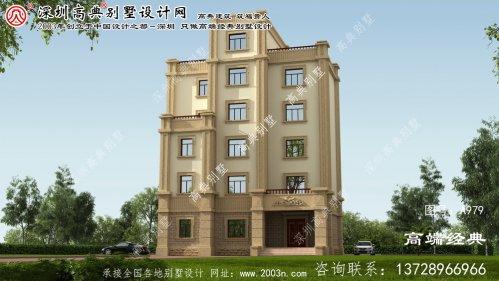 胶州市农村豪华别墅设计图