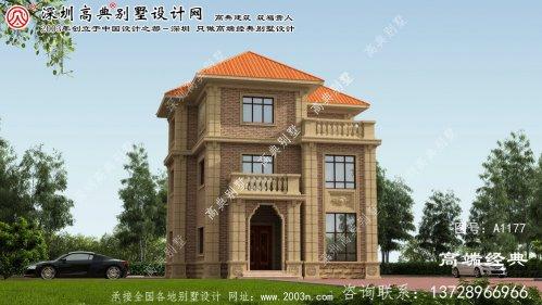 平邑县乡村小别墅外观设计