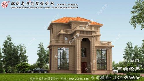 阳谷县豪宅设计图平面图