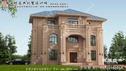 卢龙县三层别墅设计图