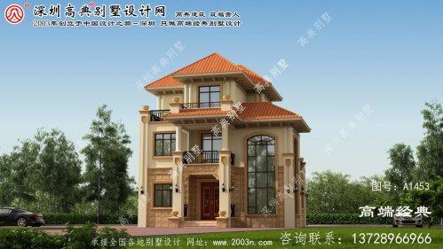 大厂回族自治县农村房屋设计图