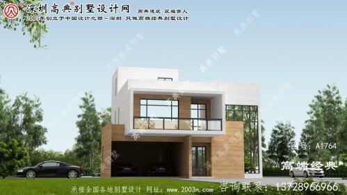 代县新款两层现代的别墅沉稳、尊贵、大气
