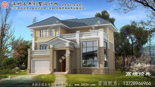 盘山县三层别墅设计图