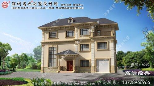 嫩江县别墅设计整套图纸