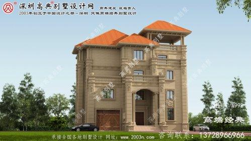 荆州区复式房屋设计图