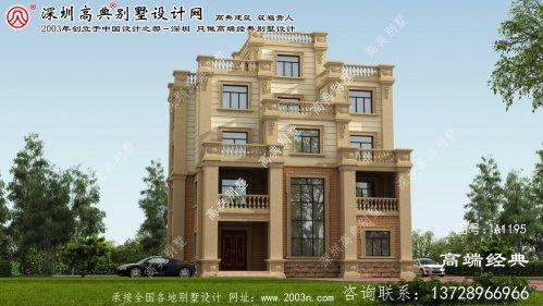 邵阳县建房屋设计图