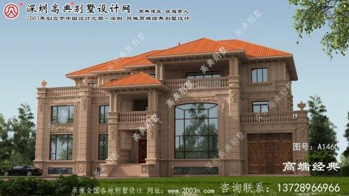 马山县大户型别墅平面图