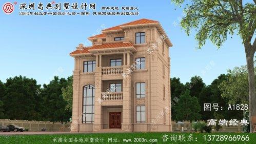 龙华区欧式石材别墅图片