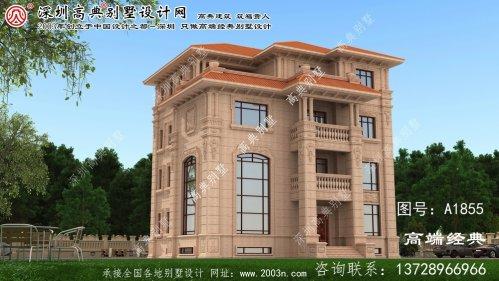 美兰区四层别墅设计图下载