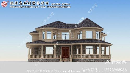 剑阁县30万元别墅设计图