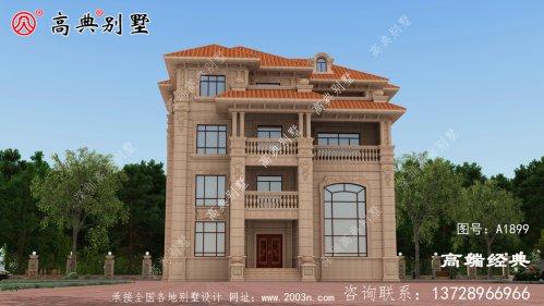马关县农村经济别墅图