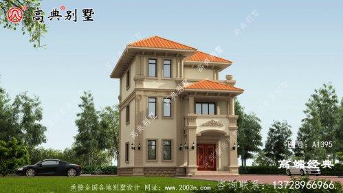 清水县两层半农村小别墅