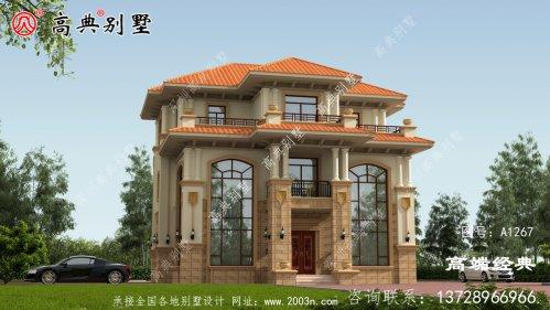 海西蒙古族藏族自治州农村自建房二层半