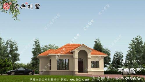 富蕴县农村建房单层