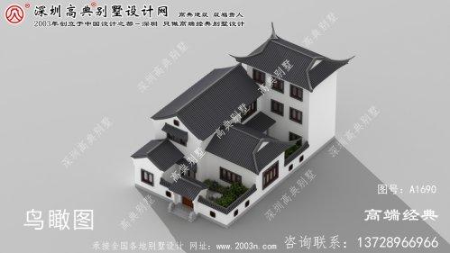 北塔区中国式庭院别墅,百万豪宅的既视感。