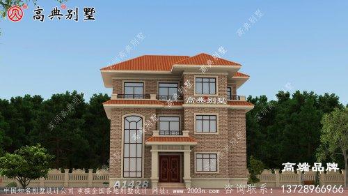 三层楼房设计图功能设计很合理送给父母养老