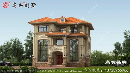 简欧别墅外观效果图成为当地最夺目的家