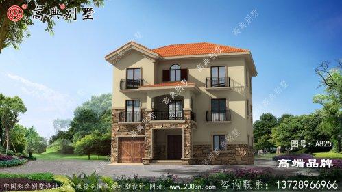 门面别墅设计图这样设计建房首选