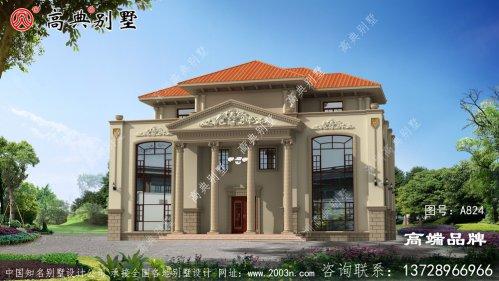 家装设计图农村别墅,贵气十足
