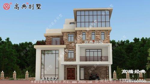 简约现代别墅满足你对别墅居住的所有要求