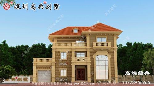 漂亮的独栋三层别墅,每一款都是值得建的好房子,看看喜欢哪一款