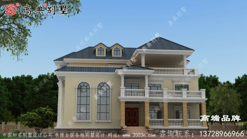 农村房屋设计案例,豪华住宅