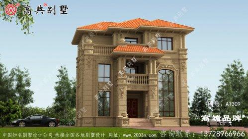 多窗多露台,充分考虑别墅的采光和通风性能
