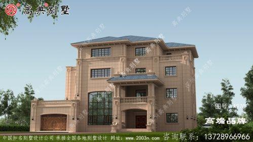 房子盖得特别好看,简单的气质不凡。
