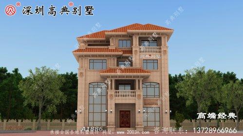 经典四层别墅,简单时尚,优雅大气,精致可爱