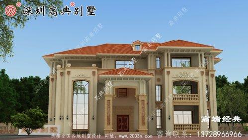农村 三层小别墅 ,外观 时尚 不说 ,造价 也很实惠 ,大家 看了 都想建造 !