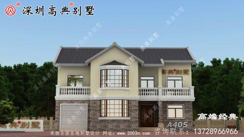 普通农村建房设计图分享