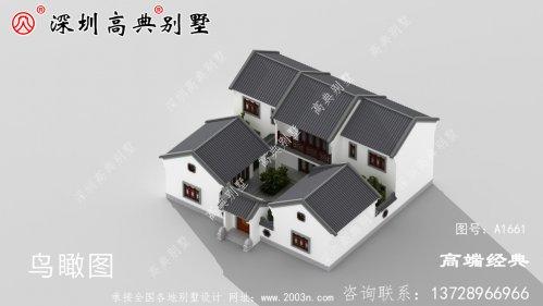 中国最漂亮的二层别墅,建上一栋,别提有多拉风了