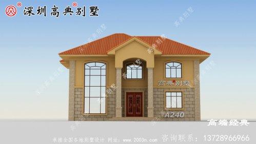 乡下普通自建房实景图,为自己建造温馨的家!