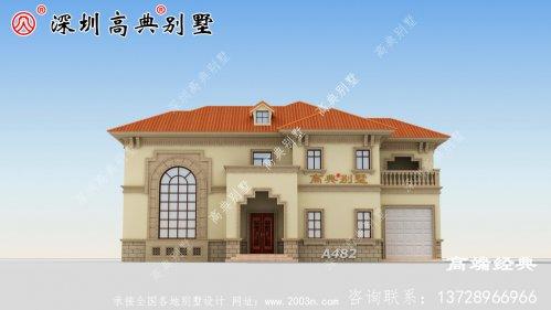 二楼大露台+阳台设计来满足不同的需求