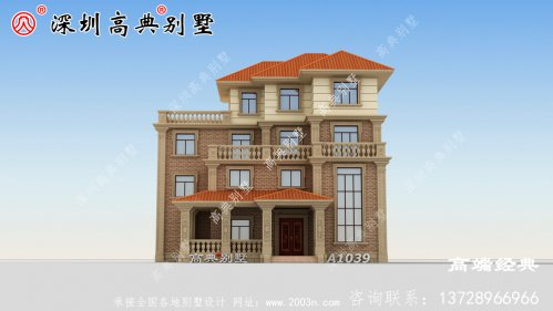 农村最新房子款式,简单大气