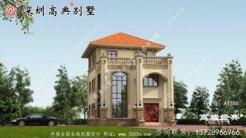 新款三层房屋设计图
