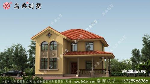现在农村生活变得富裕,家家户户都建起了别墅