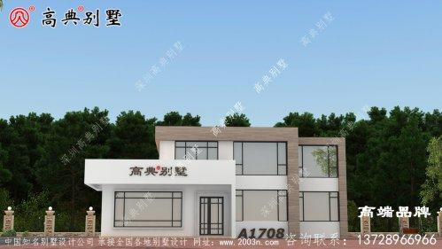 落地窗和露台设计不仅彰显了别墅的气派,也非常适合家居建造