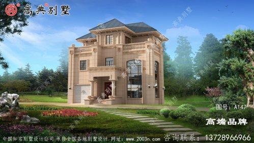 绿树环绕,鲜花盛开中建造一座完美的居家住宅